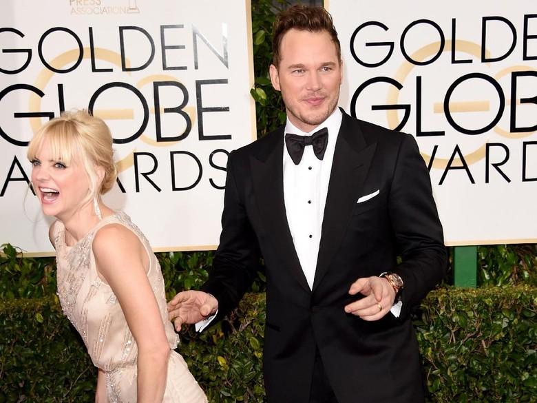 Foto: Anna Faris Sudah Beri Kode Sebelum Pilih Cerai dari Chris Pratt (Getty Images)