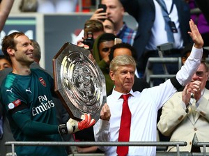 Wenger Nyaris Tanpa Cela dalam Final di Wembley