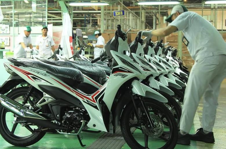 Motor Honda Revo Foto: dok. AHM