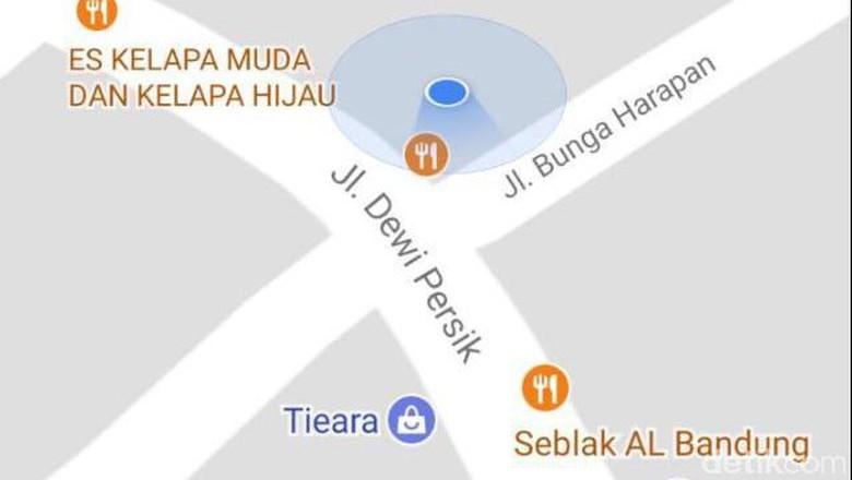 Potret Jalan Dewi Persik di Bekasi