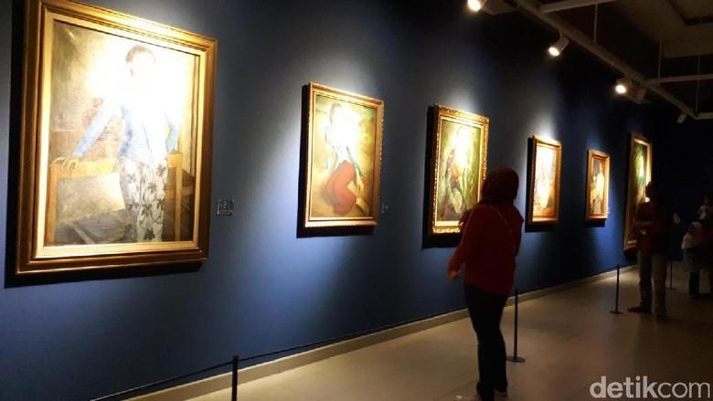 Foto: Pameran lukisan Istana Keperesidenan di Galeri Nasional (Randy/detikTravel)