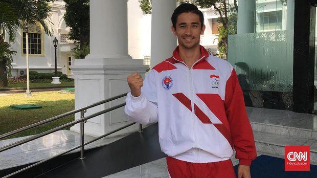 Gavin Kwan Adsit ketika tergabung bersama Timnas Indonesia U-23 di SEA Games 2018.