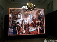 Lukisan berformat LED karya pelukis Rusia