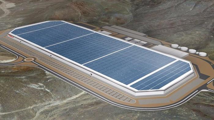 Pabrik Baterai Tesla