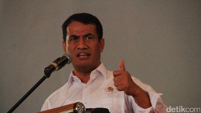 Menteri Pertanian Amran Sulaiman/Foto: Wisma Putra/detikcom