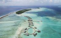 Resort ini berdiri di atas laguna (Soneva Jani)