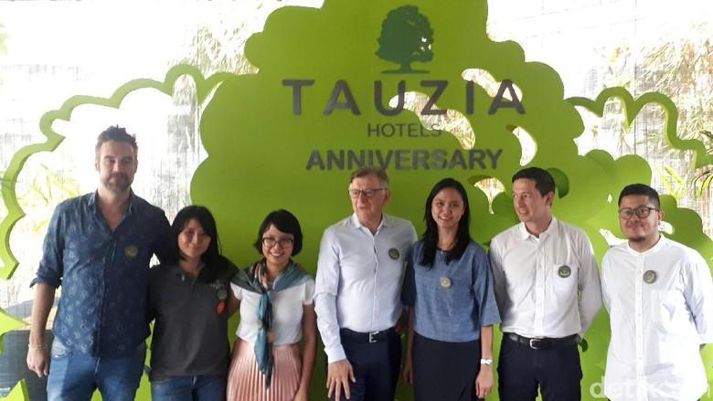 Foto: Perayaan ulang tahun Tauzia Hotels (Afif Farhan/detikTravel)