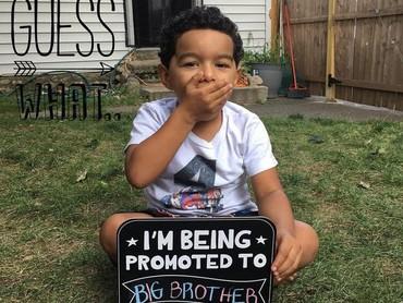 Wah, anak ini dipromosikan jadi kakak laki-laki nih. (Foto: Instagram/ @gabbybeltre)