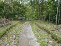 Cerita Patung Bunda Maria di Balik Air Terjun Sanggau