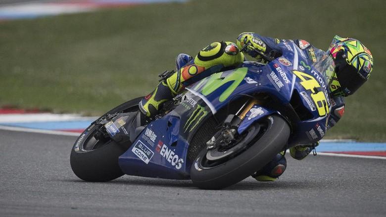 Kalahkan Marquez, Rossi Tercepat di Tes MotoGP Brno