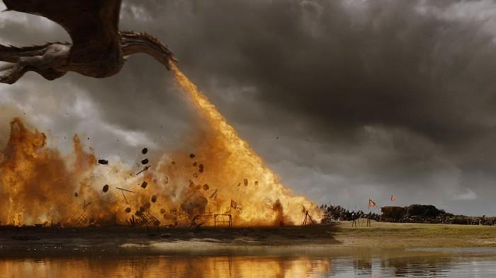 Salah satu adegan di serial Game of Thrones. Foto: Dok. HBO