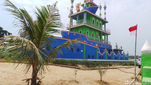 Masjid ini punya kisah yang menarik (Bahtiar/detikTravel)