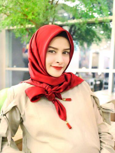 Foto: Ini Angel, Hijabers Cantik yang Disebut 'Wonder Woman' Indonesia