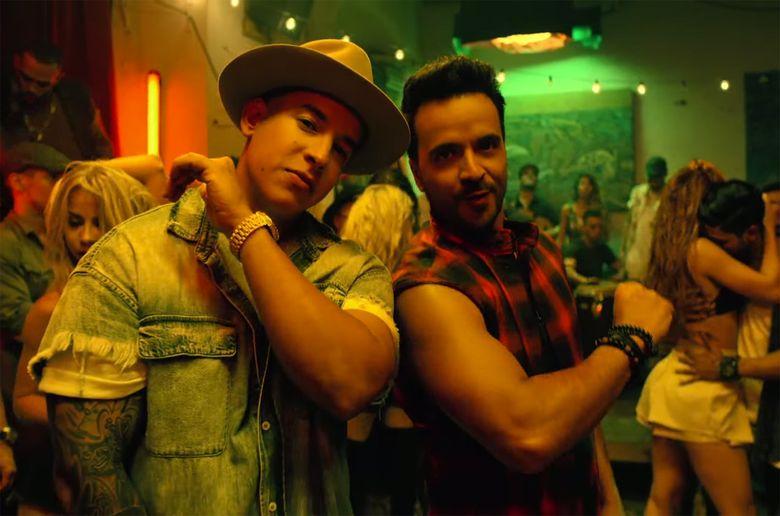 Pertama ada Despacito dari Luis Fonsi dan Daddy Yankee. Foto: istimewa