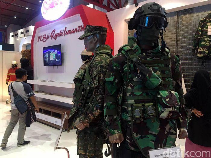 Desain seragam militer buatan Sritex itu dibuat sesuai selera dan kebutuhan pelanggan luar negeri.