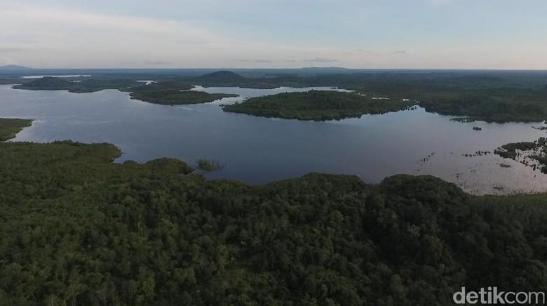 Danau Lait di Sanggau, Kalimantan Barat (Zaki/20detik)
