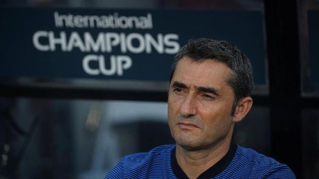 Ernesto Valverde bisa melewati torehan poin Jose Mourinho saat menangani Madrid.