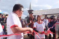 Menteri BUMN Resmikan BTS di Pulau Terpencil