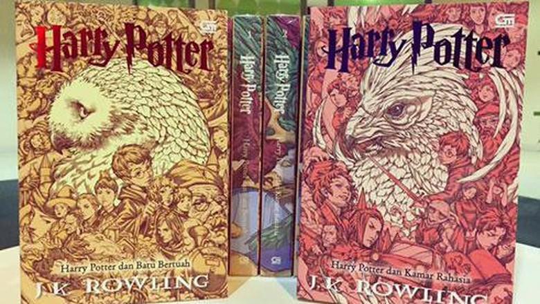 Cerita Nicholas Filbert Dikontrak Eksklusif Bikin Sampul Buku Harry Potter