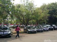 Mobil menteri Jokowi di era Kabinet Kerja.