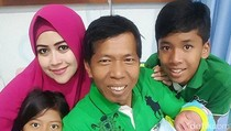 Anak Meggy Bilang Tumbenan Kiwil Buka Puasa dan Sahur di Rumah