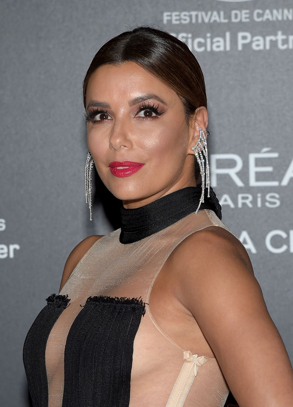 CANNES, FRANCE - MAY 24:  Eva Longoria attends the Gala 20th Birthday Of L'Oreal In Cannes during the 70th annual Cannes Film Festival at Martinez Hotel on May 24, 2017 in Cannes, France.  (Photo by Pascal Le Segretain/Getty Images)