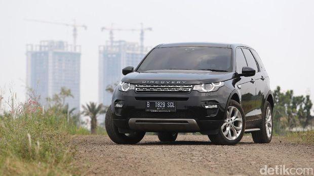 Uji Ketangguhan Land Rover Discovery