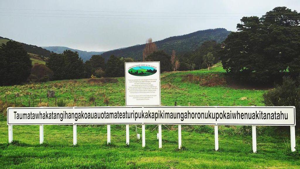 Foto: Nama Tempat Paling Panjang, Bisa Baca Kamu Jago!