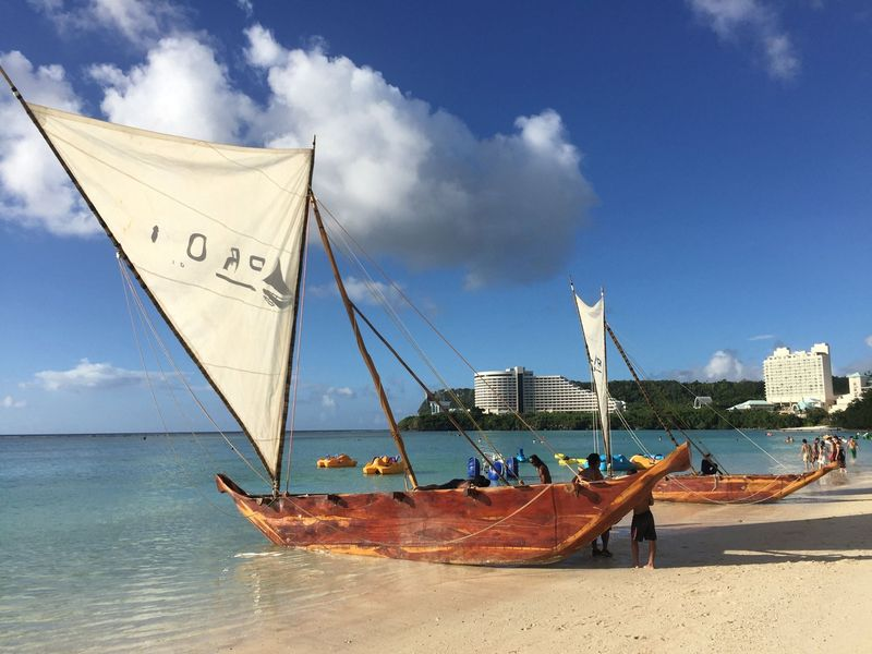 Guam merupakan sebuah pulau yang berada di kawasan Mikronesia dibawah teritorial Amerika Serikat (Visit Guam/Facebook)