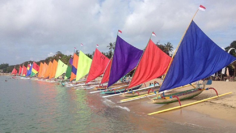Perahu-perahu jukung (Istimewa)