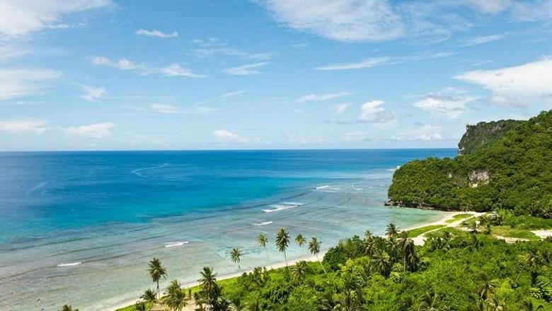 Pulau Guam, sebuah pulau cantik di kawasan mikronesia (Visit Guam/Facebook)