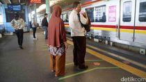 Ada Masalah Listrik di Manggarai-Tn Abang, Perjalanan KRL Terganggu