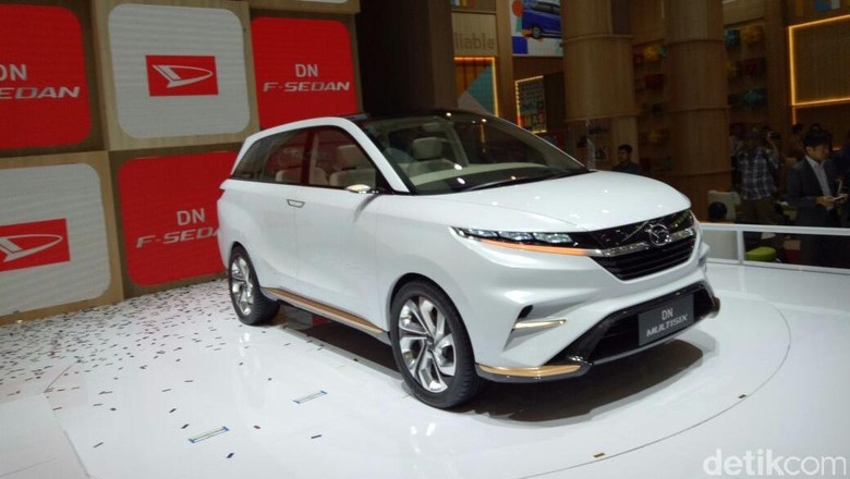 Mobil konsep Daihatsu DN Multisix (Foto: Rangga Rahadiansyah)
