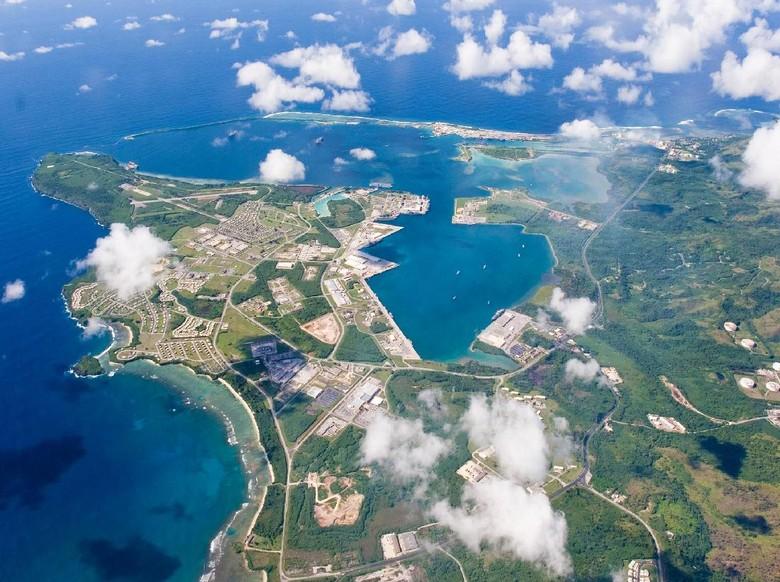 Diancam Rudal Korut, Guam Jadi Pulau Strategis AS di Pasifik