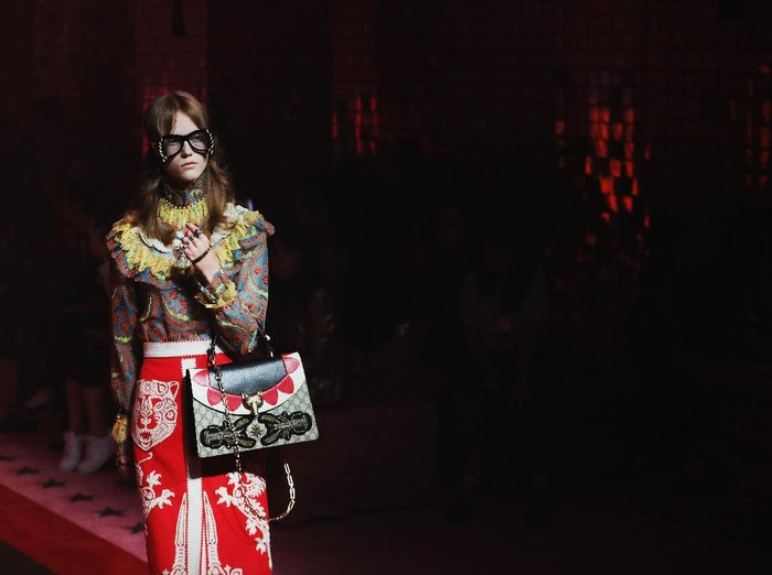 Fashion show Gucci. (Foto: Getty Images)