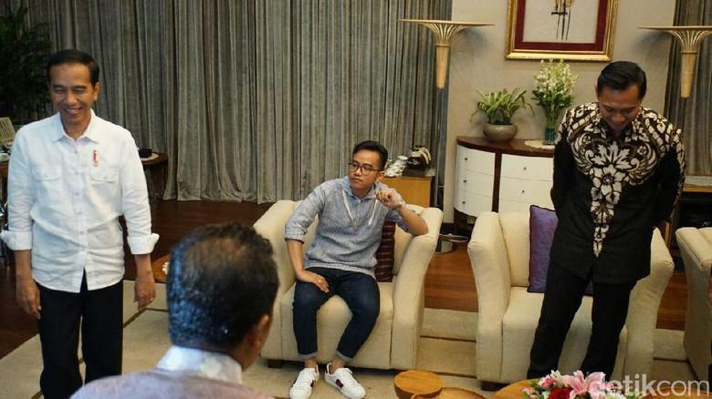 Deretan Tokoh yang Ditemui AHY: Jokowi hingga Prabowo
