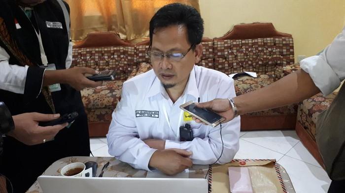 Kepala Seksi Kesehatan Daerah Kerja Madinah, dr Edi Supriyatna MKK. Foto: Triono Wahyu Sudibyo/detikcom