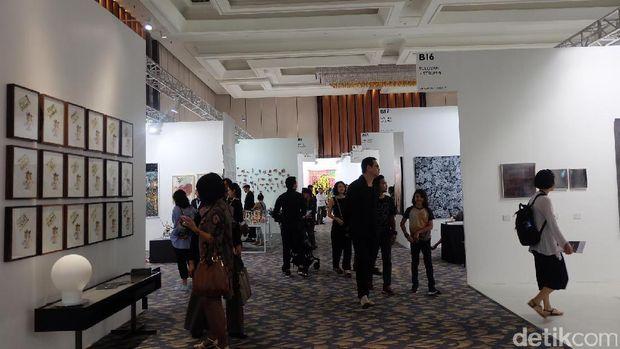 Resmi Dibuka Art Stage Jakarta 2017
