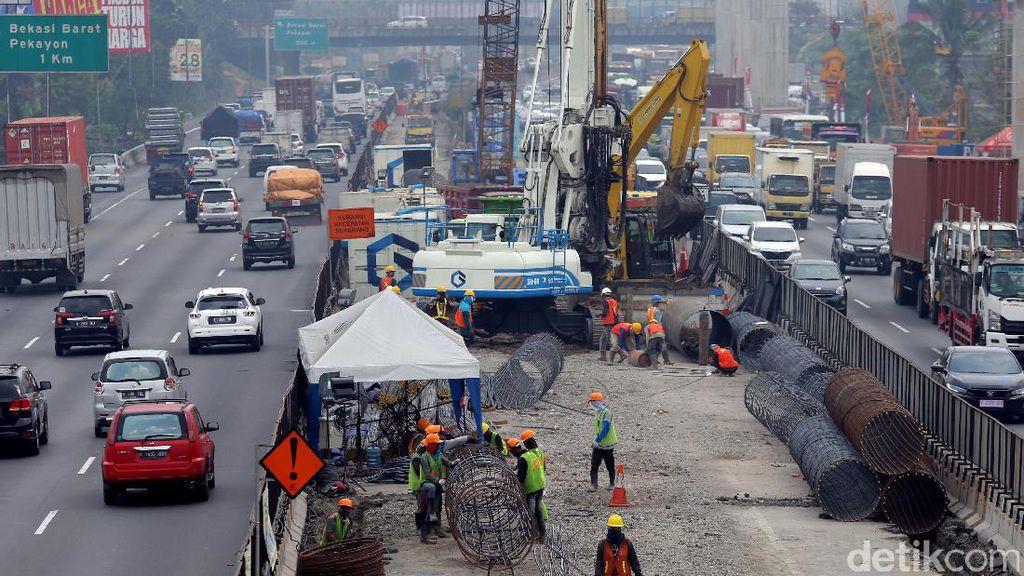 Perhatian! Tol Jakarta-Cikampek Bakal Ditutup Sebagian Nanti Malam