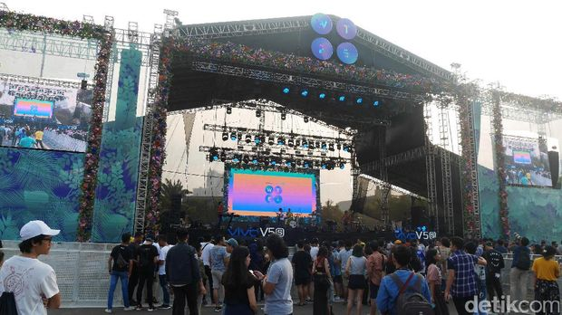 Gaet Milenial, Vivo Ramaikan We The Fest 2017