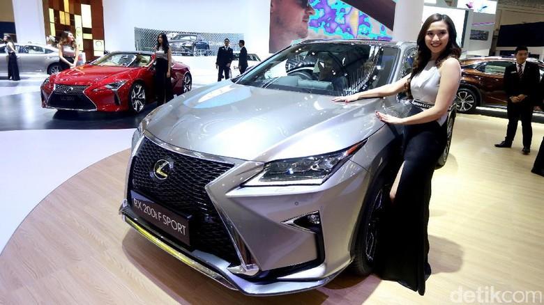 Lexus Sudah Kantongi SPK 200 Unit untuk 2018 Foto: Ari Saputra