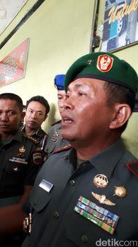 Komandan Korem 031 Wira Bima Brigjen Abdul Karim /