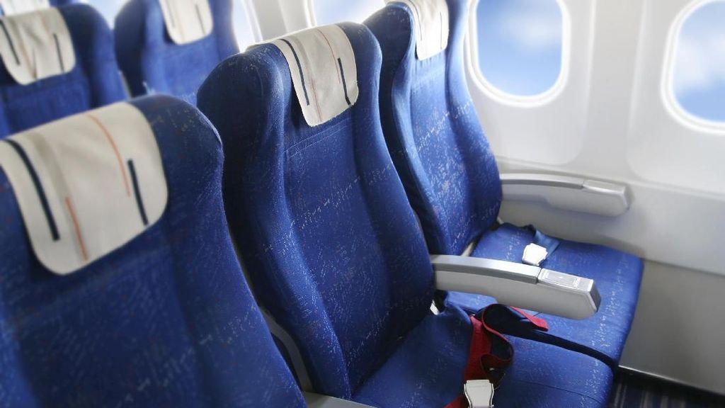 Siapa yang Berhak Buat Sandaran Tangan di Bangku Tengah Pesawat?