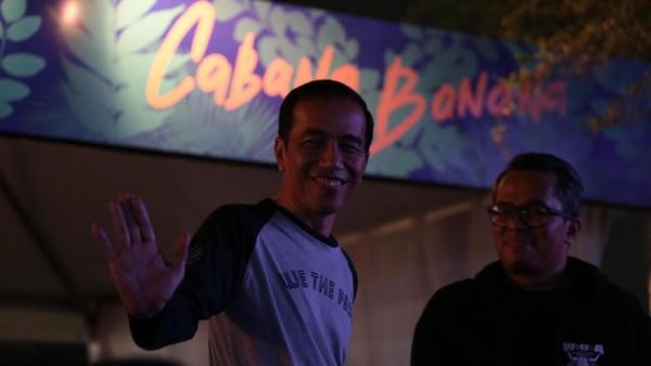 Nonton We The Fest, Jokowi Ingin Melihat Tren