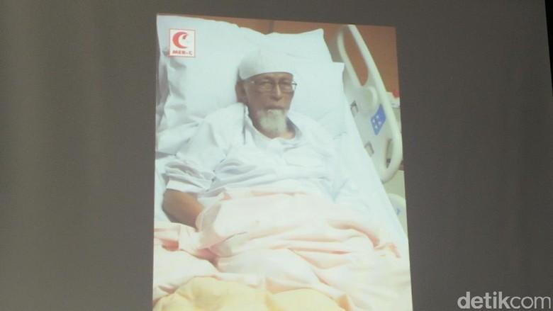Dirawat di RS, Abu Bakar Baasyir Ada Indikasi Gagal Jantung