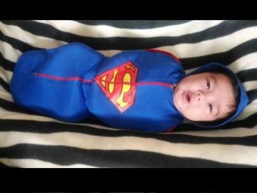 Ya ampun, dari kecil aja udah berani untuk jadi super hero! Super gemes. (Instagram: @Remirahim)