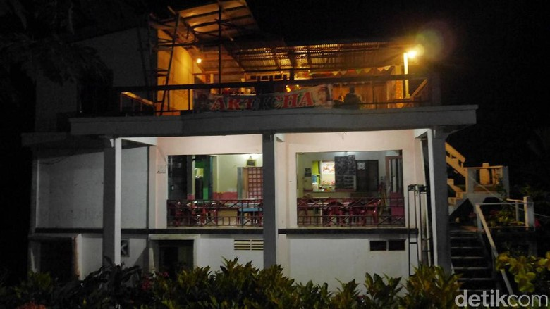 Malam Minggu di Balai Karangan, Kecamatan Sekayam, Kabupaten Sanggau (Kurnia/detikTravel)