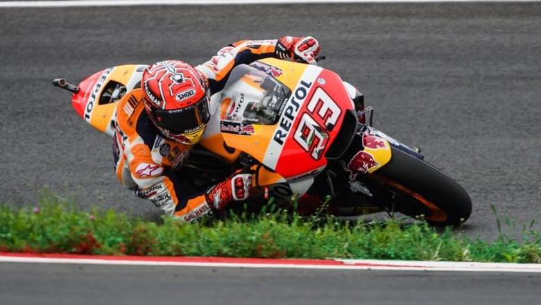 Marquez Tercepat, Pedrosa Kedua