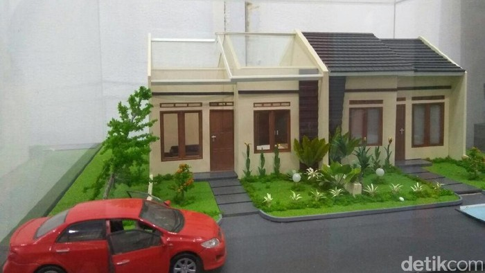 Maket Rumah Murah di Pinggir Jakarta