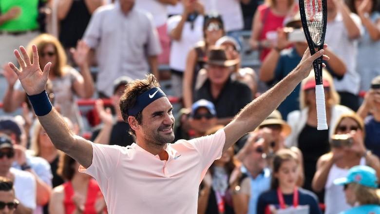 Federer Melangkah ke Semifinal